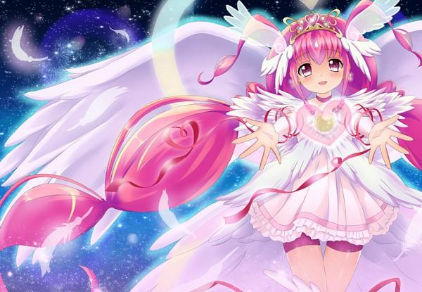 Tags: Anime, Tamago Kago, Smile Precure!, Ultra Cure Happy, Hoshizora Miyuki, Fanart From Pixiv, Pixiv, Fanart