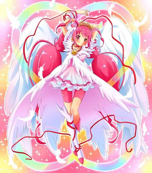 Tags: Anime, Sorane Rin, Smile Precure!, Hoshizora Miyuki, Ultra Cure Happy, Pixiv, Fanart, Fanart From Pixiv