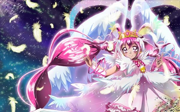 Tags: Anime, Pixiv Id 5414474, Smile Precure!, Hoshizora Miyuki, Ultra Cure Happy, Fanart, Fanart From Pixiv, Pixiv, Wallpaper