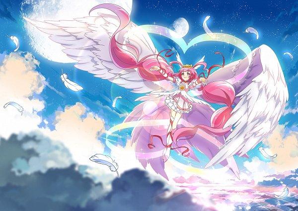 Tags: Anime, Xing, Smile Precure!, Ultra Cure Happy, Hoshizora Miyuki, Pixiv, Fanart, Fanart From Pixiv