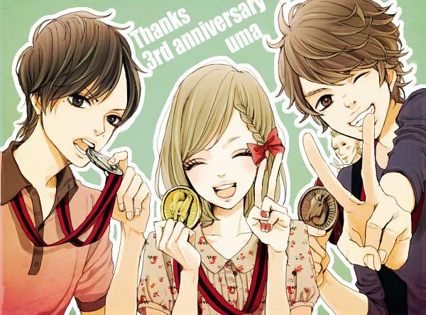 Tags: Anime, Uma-i-boh, Medal, Coin, Pixiv, Original