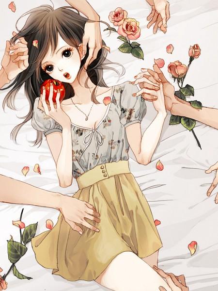 Tags: Anime, Uma-i-boh, Snow White and the Seven Dwarfs, Snow White, Original, Pixiv
