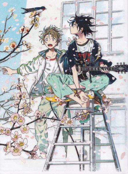 Tags: Anime, Kii Kanna, Umibe no Étranger, Harukaze no Étranger, Chibana Mio, Hashimoto Shun, Official Art