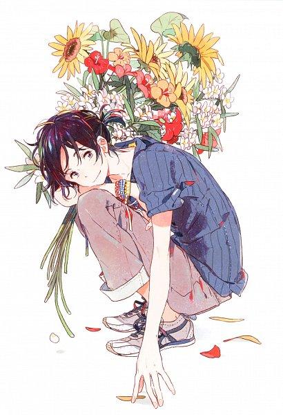 Tags: Anime, Kii Kanna, Harukaze no Étranger, Umibe no Étranger, Chibana Mio, Official Art