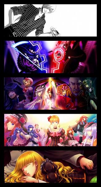 Tags: Anime, Hyakuko San, 07th Expansion, Umineko no Naku Koro ni, Ushiromiya Maria, Virgilia, Lambdadelta, Ushiromiya Natsuhi, Ushiromiya Battler, Amakusa Juuza, Ronove, Ushiromiya Ange, Beatrice, When The Seagulls Cry