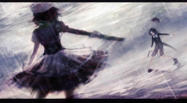 Tags: Anime, Silverwing, 07th Expansion, Umineko no Naku Koro ni, Shannon, Kanon (Umineko), Facebook Cover, Wallpaper, When The Seagulls Cry