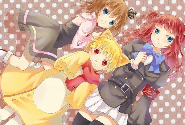 Tags: Anime, Bekkourico, Umineko no Naku Koro ni, Sakutaro, Ushiromiya Ange, Ushiromiya Maria, When The Seagulls Cry