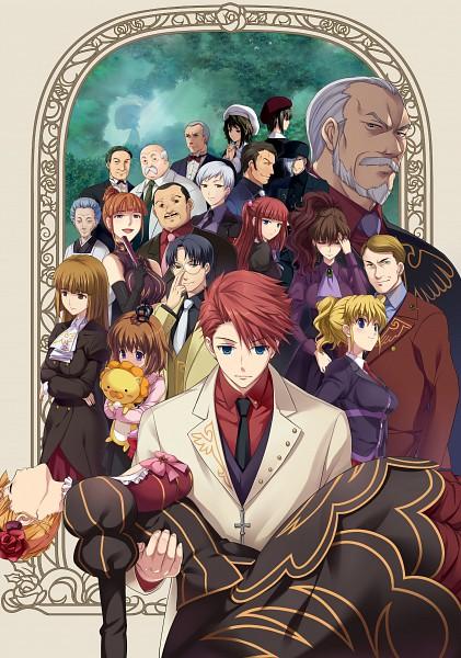 Tags: Anime, Ekusa Takahito, 07th Expansion, Alchemist (Studio), Umineko no Naku Koro ni, Nanjo Terumasa, Ushiromiya Battler, Ushiromiya Hideyoshi, Ushiromiya Ange, Ushiromiya Kyrie, Kanon (Umineko), Ushiromiya Eva, Gohda Toshiro, When The Seagulls Cry