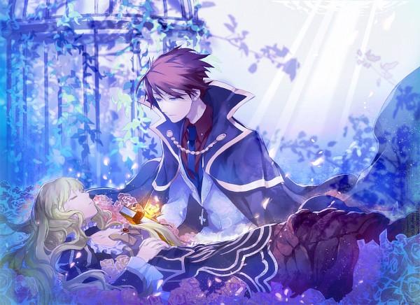 Tags: Anime, Kazune (Pixiv5519), 07th Expansion, Umineko no Naku Koro ni, Ushiromiya Battler, Beatrice, When The Seagulls Cry