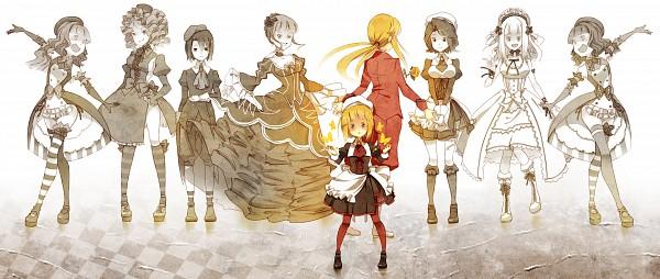 Tags: Anime, Aiwatan, Umineko no Naku Koro ni, Claire Bernardus, Gaap, Ushiromiya Lion, Beatrice, Yasuda Sayo, Shannon, Zepar, Kanon (Umineko), Yasu (Umineko), Furfur, When The Seagulls Cry