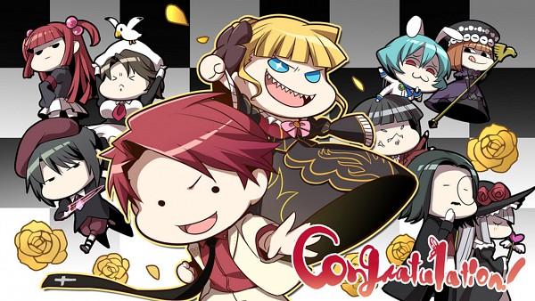 Tags: Anime, 07th Expansion, Umineko no Naku Koro ni, Siesta 410, Kanon (Umineko), Lucifer (Sister of Purgatory), Eva-Beatrice, Ronove, Beatrice, Virgilia, Shannon, Ushiromiya Ange, Ushiromiya Battler, When The Seagulls Cry