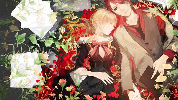 Tags: Anime, Pixiv Id 245274, 07th Expansion, Umineko no Naku Koro ni, Ushiromiya Battler, Beatrice, Facebook Cover, Wallpaper, HD Wallpaper, When The Seagulls Cry