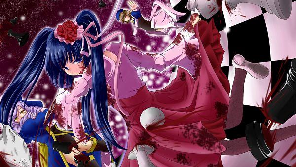 Tags: Anime, Pixiv Id 36347, 07th Expansion, Umineko no Naku Koro ni, Furudo Erika, Dlanor A. Knox, Cornelia (Eiserne Jungfrau), Wallpaper, HD Wallpaper, The Eiserne Jungfrau, When The Seagulls Cry