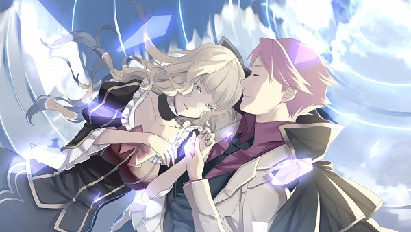 Tags: Anime, Kouichirou, 07th Expansion, Umineko no Naku Koro ni, Ushiromiya Battler, Beatrice, HD Wallpaper, Facebook Cover, Wallpaper, When The Seagulls Cry