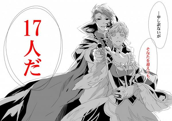 Tags: Anime, Ayko, 07th Expansion, Umineko no Naku Koro ni, Beatrice, Ushiromiya Battler, Fanart, Pixiv, When The Seagulls Cry