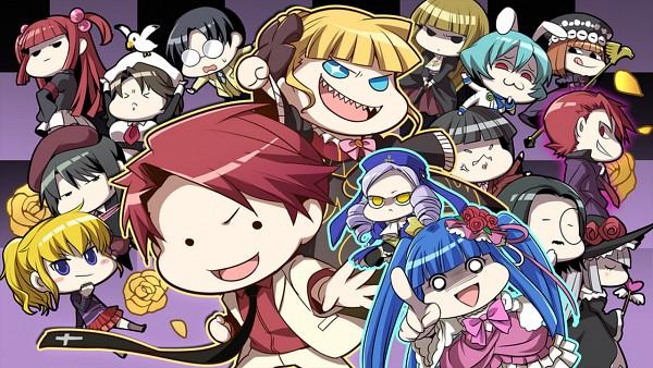 Tags: Anime, 07th Expansion, Umineko no Naku Koro ni, Ushiromiya Jessica, Virgilia, Beatrice, Dlanor A. Knox, Ushiromiya Ange, Dark Battler, Shannon, Lucifer (Sister of Purgatory), Siesta 410, Ushiromiya Battler, When The Seagulls Cry
