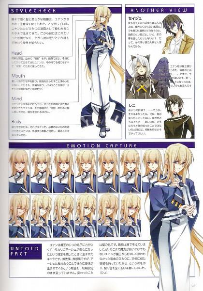 Tags: Anime, Toujou Sakana, Under the Moon, Unan, Character Sheet
