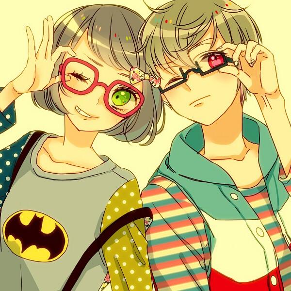 Under Rim Glasses - Glasses