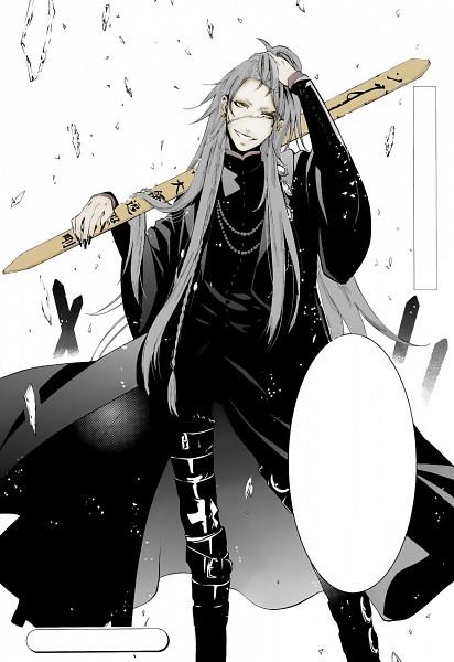 Tags: Anime, Kuroshitsuji, Undertaker, Colorization