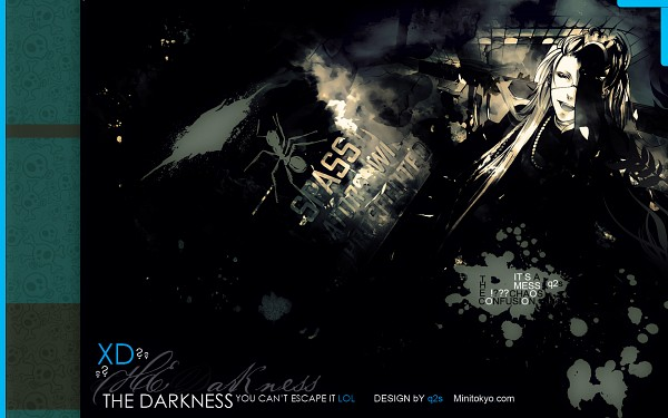 Tags: Anime, Kuroshitsuji, Undertaker, Spider, 1680x1050 Wallpaper, Fanmade Wallpaper, Wallpaper, Edited