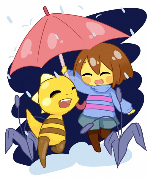 Tags: Anime, Undertale, Monster Kid, Frisk, Self Made