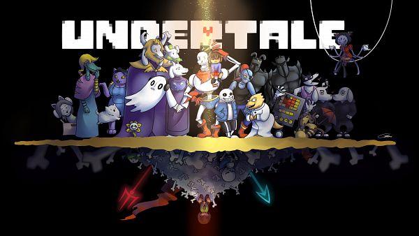 Tags: Anime, Undertale, Muffet, Dogamy, Undyne, Napstablook, Asgore Dreemurr, Sans, Flowey, Temmie, Toriel, Frisk, Papyrus