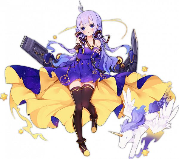 Tags: Anime, Kaede (Pixiv Id 1023957), Yostar, Azur Lane, Unicorn (Azur Lane), Xingchen (Cosplay), Official Art