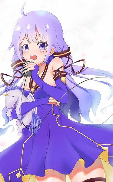 Tags: Anime, Pixiv Id 6976081, Azur Lane, Unicorn (Azur Lane), Stuffed Unicorn, Stuffed Horse, Xingchen (Cosplay), Fanart
