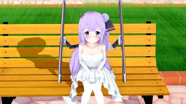 Tags: Anime, Pixiv Id 26968174, Azur Lane, Unicorn (Azur Lane), Fanart From Pixiv, Pixiv, 3D, Fanart