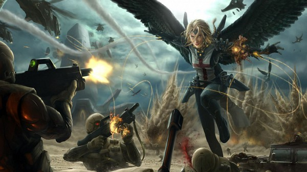 Tags: Anime, Soldier, Unidentified, Facebook Cover