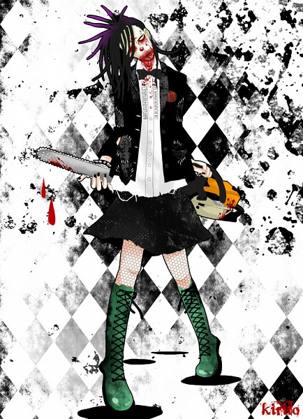 Tags: Anime, Chainsaw, Unidentified