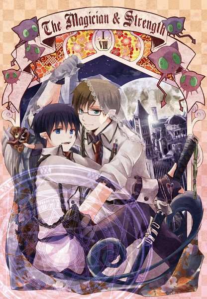 Tags: Anime, Ao no Exorcist, Okumura Yukio, Okumura Rin, Magician (Entertainer), Pixiv, Fanart
