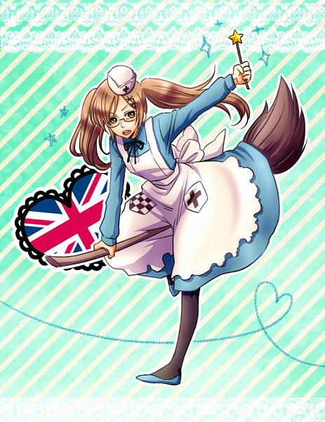 Tags: Anime, Pixiv Id 222950, Axis Powers: Hetalia, United Kingdom (Female), Nyotalia, Allied Forces
