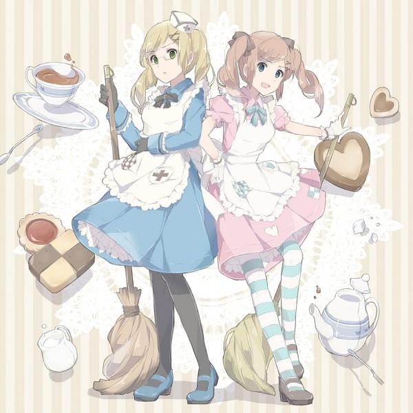 Tags: Anime, Nishiro, Axis Powers: Hetalia, United Kingdom (Female), Sugar, Sugar Cube, Nyotalia, Pixiv, Player 2, Allied Forces