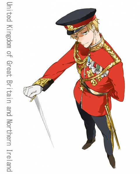 Tags: Anime, Pixiv Id 6310334, Axis Powers: Hetalia, United Kingdom, PNG Conversion