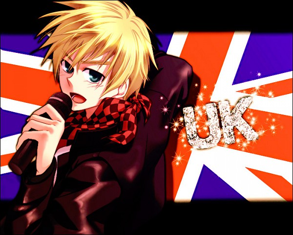 Tags: Anime, Sikijyou, Axis Powers: Hetalia, United Kingdom, Flag Background, Pixiv, Allied Forces