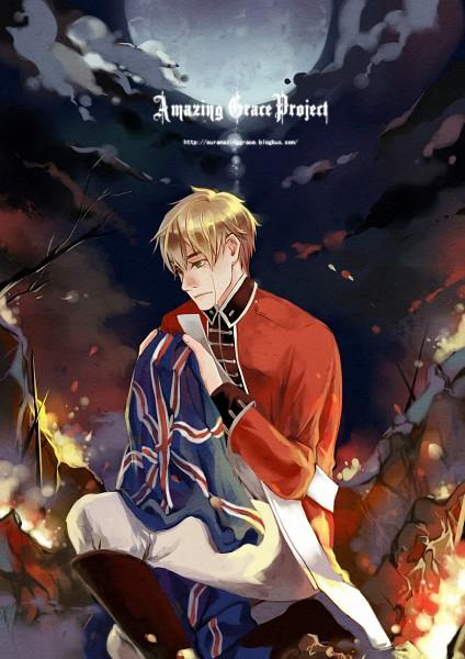 Tags: Anime, Axis Powers: Hetalia, United Kingdom, Mobile Wallpaper, Fanart, American Revolutionary War, deviantART, Allied Forces