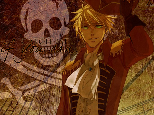 Tags: Anime, Axis Powers: Hetalia, United Kingdom, Skull And Crossbones, Artist Request
