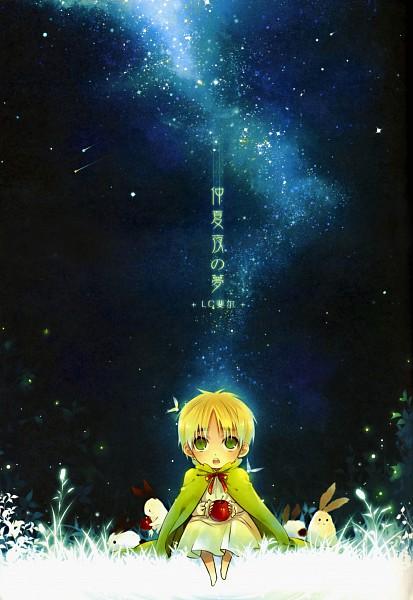 Tags: Anime, Saiyki, Axis Powers: Hetalia, United Kingdom, Galaxy, Doujinshi Cover, Scan, Fanart, Mobile Wallpaper, Pixiv, Allied Forces