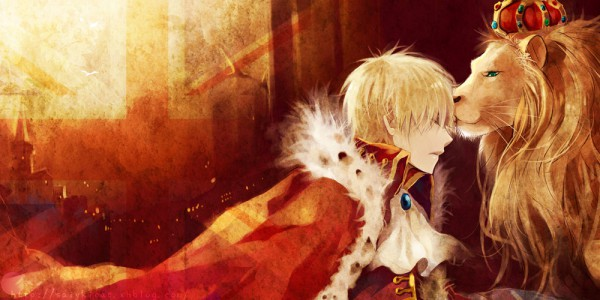 Tags: Anime, Saiyki, Axis Powers: Hetalia, United Kingdom, Big Ben, King, 2:1 Ratio, Royal Robe, Facebook Cover, Fanart, Pixiv, Fanart From Pixiv, Allied Forces