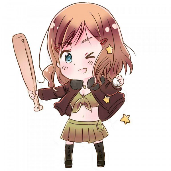 Tags: Anime, Huahua, Axis Powers: Hetalia, United States (Female), Baseball, Brown Jacket, Front-tie Top, Bomber Jacket, Nyotalia, Pixiv, Fanart, Allied Forces
