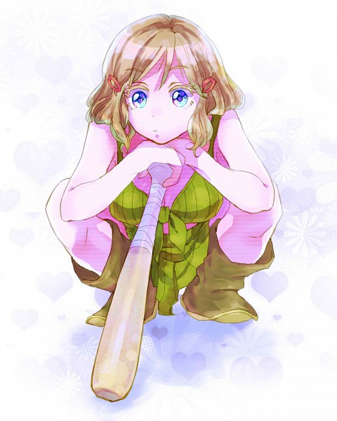 Tags: Anime, Pixiv Id 1077086, Axis Powers: Hetalia, United States (Female), Front-tie Top, Nyotalia, Pixiv, Allied Forces