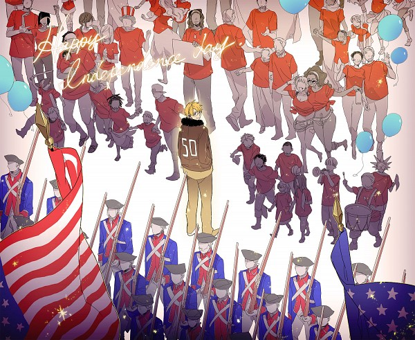 Tags: Anime, Runko, Axis Powers: Hetalia, United States, Soldier, Fanart, Pixiv, Fanart From Pixiv, Allied Forces
