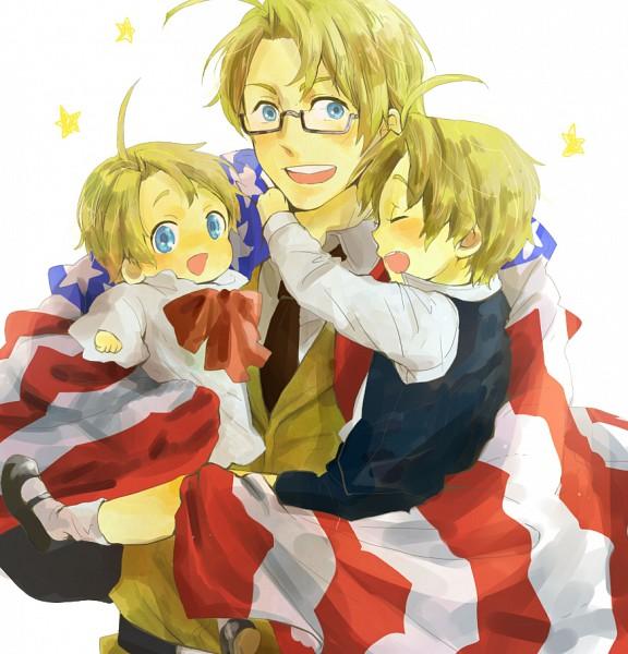 Tags: Anime, Pixiv Id 3724309, Axis Powers: Hetalia, United States, Allied Forces