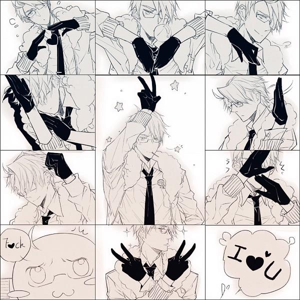 Tags: Anime, Oe-eo, Axis Powers: Hetalia, Mochimerica, United States, Hātotoresu, Mochitalia