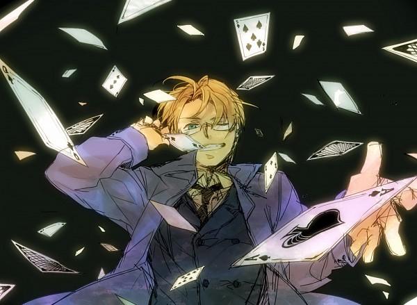 Tags: Anime, Axis Powers: Hetalia, United States, Spade (Card), Cardverse