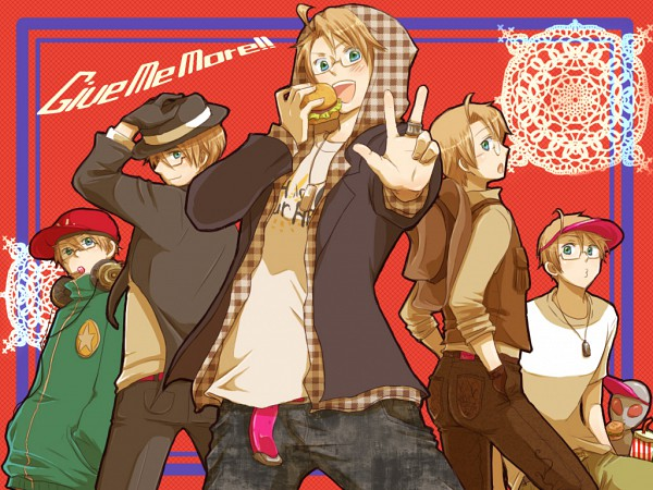 Tags: Anime, Pixiv Id 134838, Axis Powers: Hetalia, United States, Western, Cowboy, Allied Forces