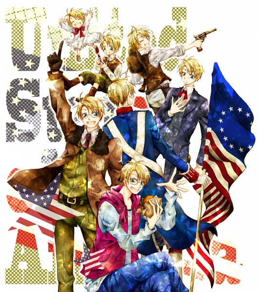 Tags: Anime, Axis Powers: Hetalia, United States, Allied Forces