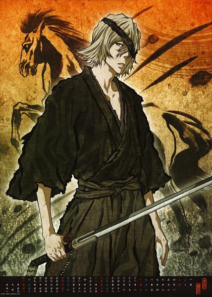Tags: Anime, BLEACH Calendar 2011, BLEACH, Urahara Kisuke, Calendar 2011, Calendar (Source), Official Art, Mobile Wallpaper