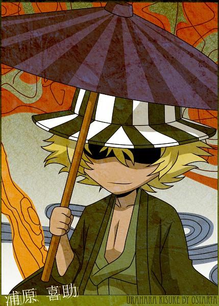 Tags: Anime, BLEACH, Urahara Kisuke, Mobile Wallpaper, deviantART, Fanart